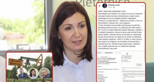 ANTONIJA SE LJUTI - Prva dama Pleternice tvrdi: Lažete!