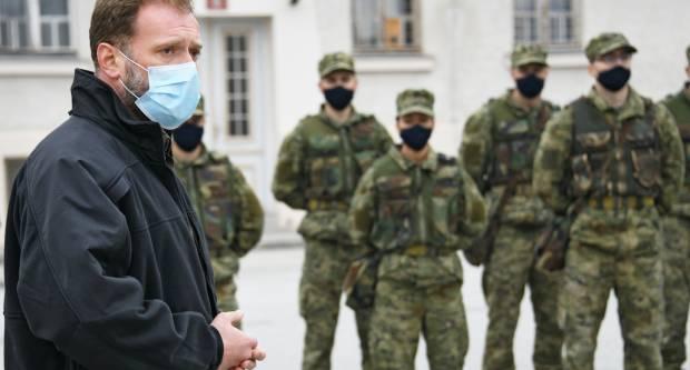 Ministar Banožić dragovoljnim ročnicima:ʺVi ste budućnost Hrvatske vojskeʺ