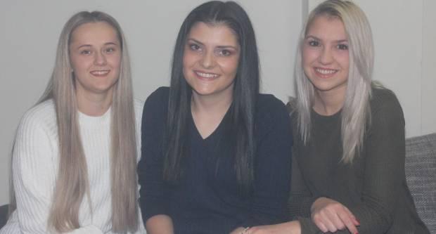 Tri mlade djevojke ovog Božića unijet će veselje u domove mnogih obitelji