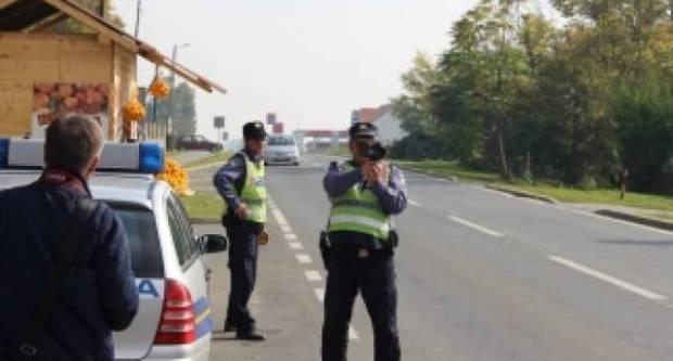 Najava akcije nadzora brzine