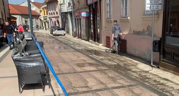 Uređenje pješačke zone u Požegi