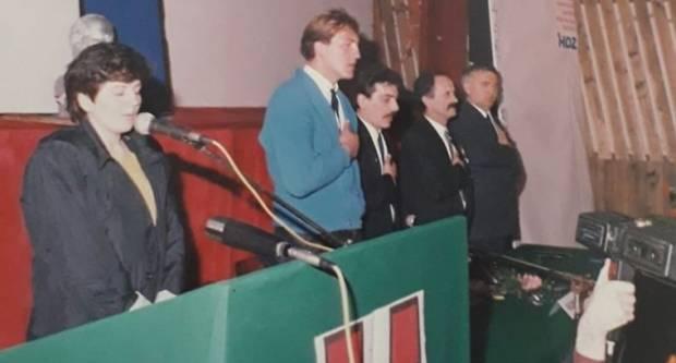 Prije 31 godinu osnovan je HDZ općine Požega