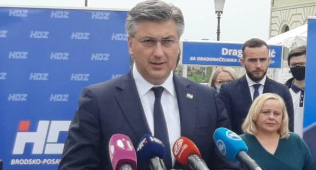 Plenković danas u Sl. Brodu, Vlada isplatila plaće za 14 000 radnika u našoj županiji!