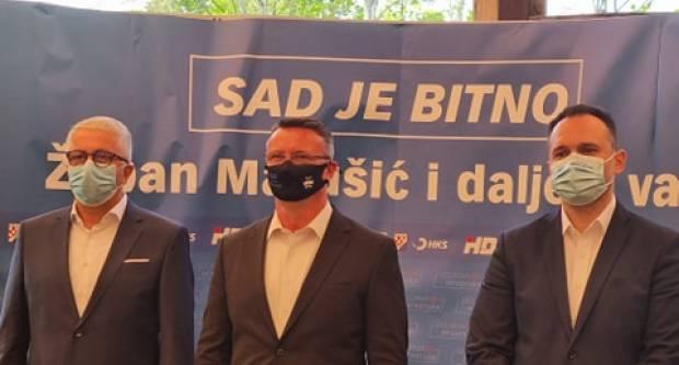 Predstavljeni kandidati HDZ-a za župana i zamjenika. Šimić poručio: ʺSada je zaista bitnoʺ