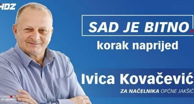 Bezbrižno u kampanju: Ivica Kovačević jedini je kandidat za načelnika Općine Jakšić