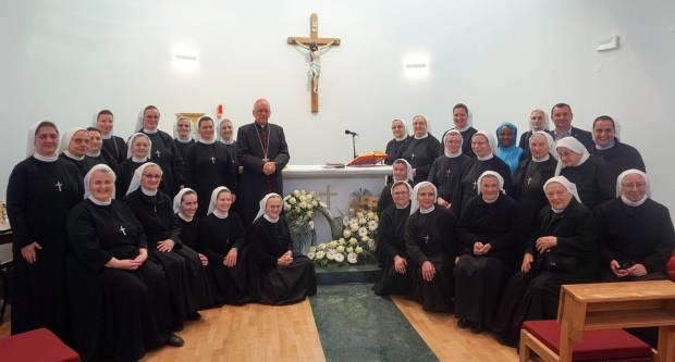 Blagoslov samostana i nove kapele sestara milosrdnica u Daruvaru