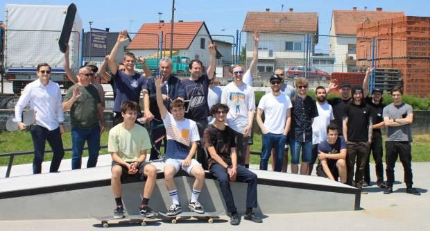 AUREA XTREME Otvorenje novouređenog skate parka u Požegi