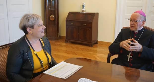 Biskup Škvorčević primio pakračku gradonačelnicu