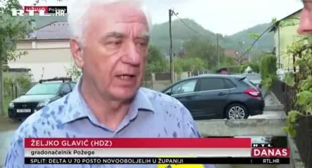 Požeški gradonačelnik dr.sc. Željko Glavić uživo gostovao u RTL-u Danas
