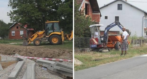 U tijeku su radovi na izgradnji autobusnih stajališta i pješačkih staza na lipičkom području