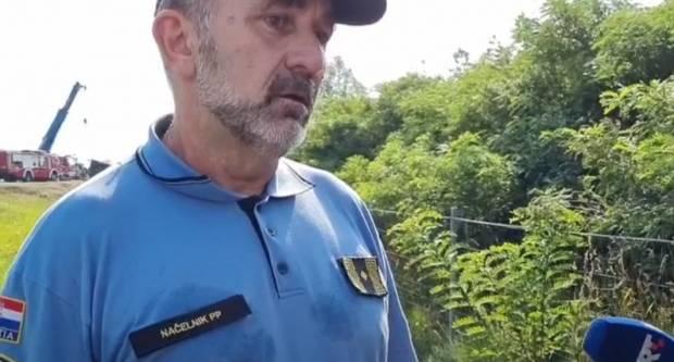 Policijski načelnik Galić: Ovo je teška prometna nesreća, jedna od najtežih na kojima sam bio