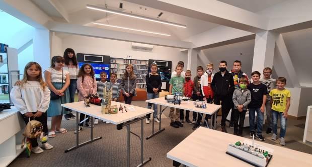 Gradska knjižnica Požega: Drugi ciklus ljetnog Lego-maratona za osnovnoškolce