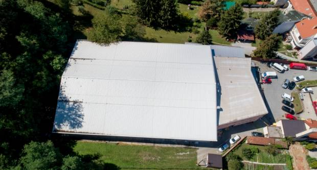Krov Sportske dvorane Tomislav Pirc u solidnom je stanju i nije oštećen u nedavnom nevremenu