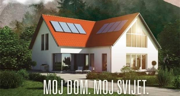Nastavlja se sufinanciranje energetske obnove obiteljskih kuća