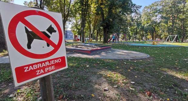 U dječjim parkovima zabranjen pristup psima, ali nije zabranjeno korištenje cigareta. Zašto?