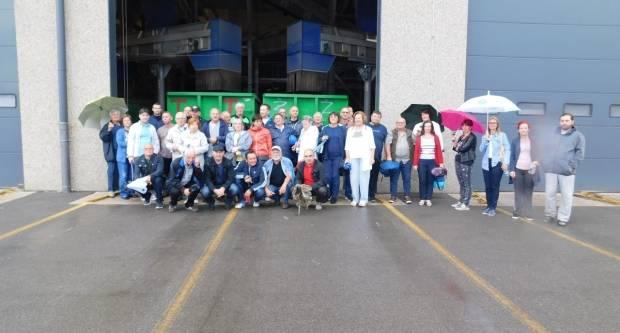 Društvo energetičara iz Požege na ekskurziji u Viškovu