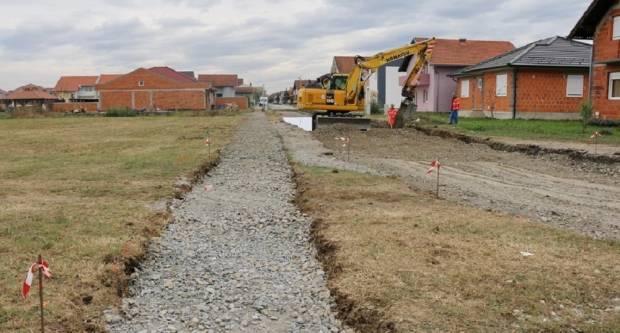 Započela izgradnja spojne ceste, pješačke staze i oborinske odvodnje između Bilogorske ulice i Ulice Mihovila Pavlinovića
