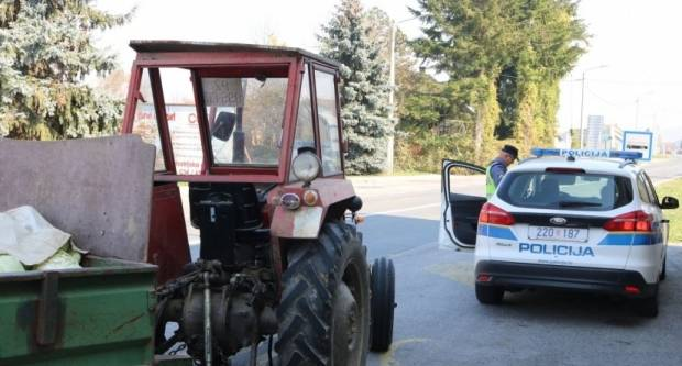 VIKEND BISER: Traktorom ʺbježaoʺ policiji, kasnije stao i pokušao pobjeći pješice