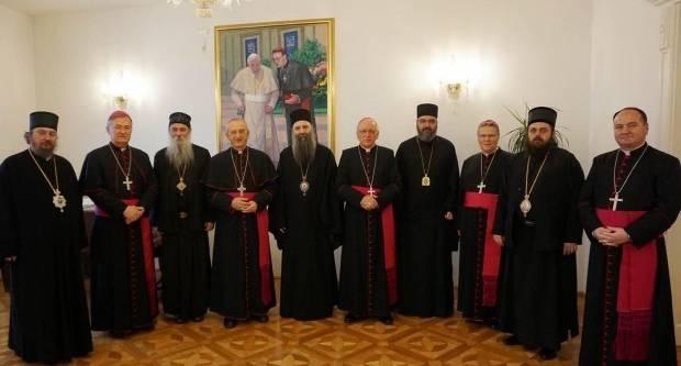 Susreli se katolički biskupi i episkopi SPC-a u Požegi