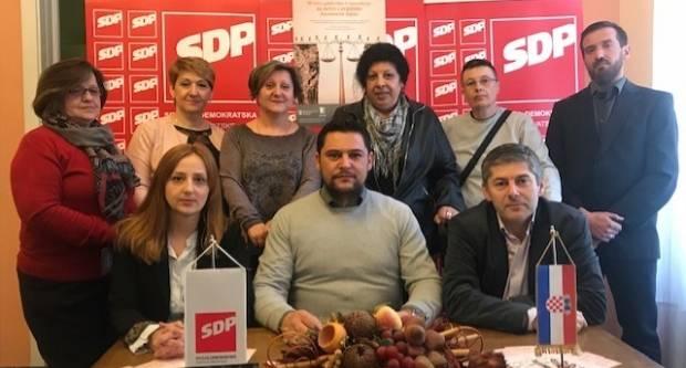 GO SDP Požega: ʺTražimo prijevremene izboreʺ