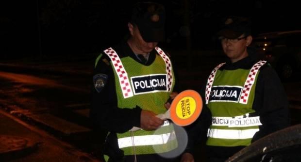 Ovaj vikend četiri prometne nesreće, jedan zadržan pod utjecajem alkohola i pojačane policijske aktivnosti