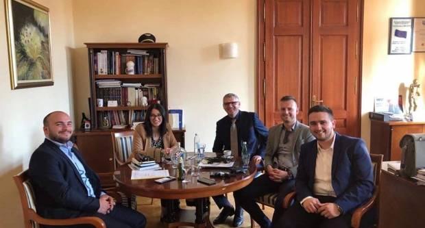Dario Ivković sudjelovao na radnom sastanku u Brčko distriktu