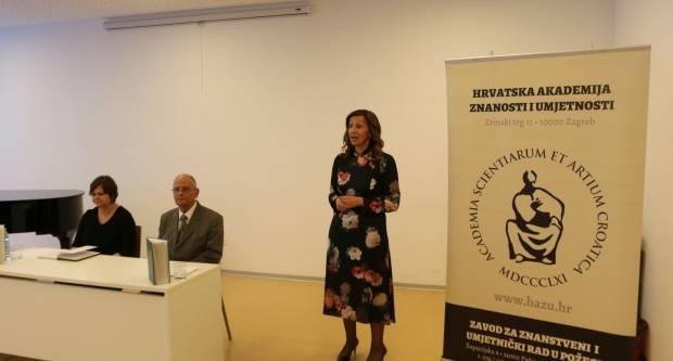 Zavod za znanstveni i umjetnički rad HAZU Požega predstavio dva znanstveno-stručna časopisa