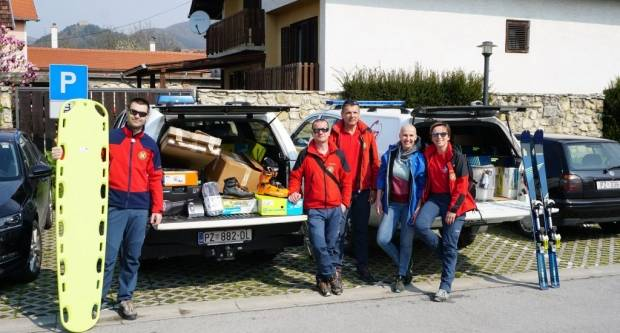 PP Papuk nabavio opremu potrebnu za akcije spašavanja i potrage