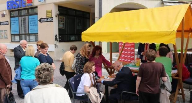 U Požegi održana akcija ʺPrevencijom do zdravljaʺ i predstavljen nacionalni program SDP-a u Požegi