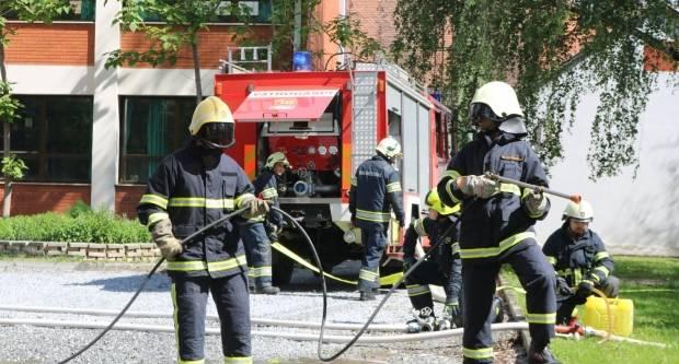 Požar u Brestovcu, brzom intervencijom pet DVD-ova spašena OŠ D. Lermana