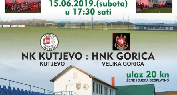 Sutra Gorica na kutjevačkoj promociji plasmana u Treću HNL i otvorenju Fitness centra Kutjevo