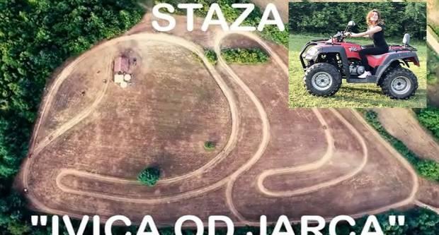 Idealna razonoda u blizini Slavonskog Broda Quad staza ʺIVICA OD JARCAʺ