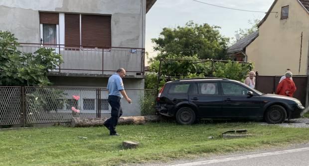 31-godišnjakinja u Vidovcima automobilom lupila u kuću