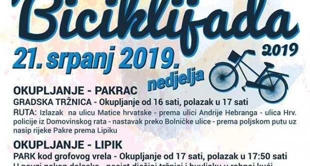 Novi datum tradicionalne biciklijade u Pakracu i Lipik: Nedjelja, 21. srpanj!