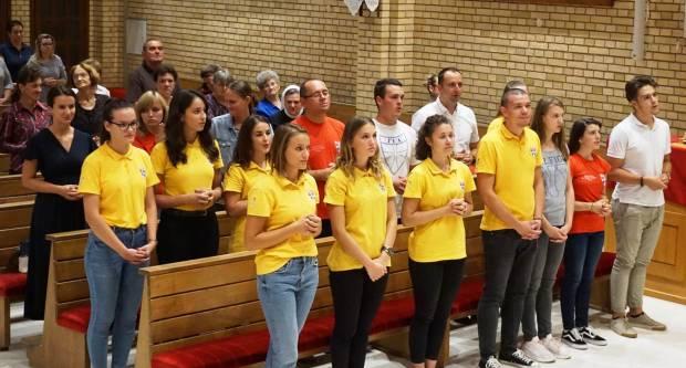 Susret mladih križara u Požegi