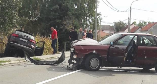 Prometna nesreća u Novim Mihaljevcima - ʺHvala Bogu nitko nije teže nastradaoʺ