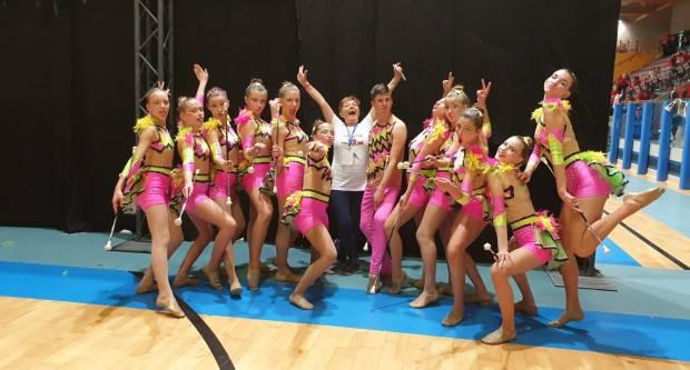 Požeške mažoretkinje odlične na Europskom natjecanju u Italiji