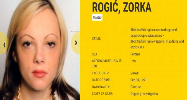 Hrvatica Zorka najtraženija je top-kriminalka