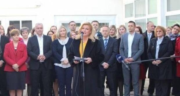 VIROZA I TEMPERATURA: Predsjednica RH sutra ipak ne dolazi u pohod Požeško-slavonskoj županiji