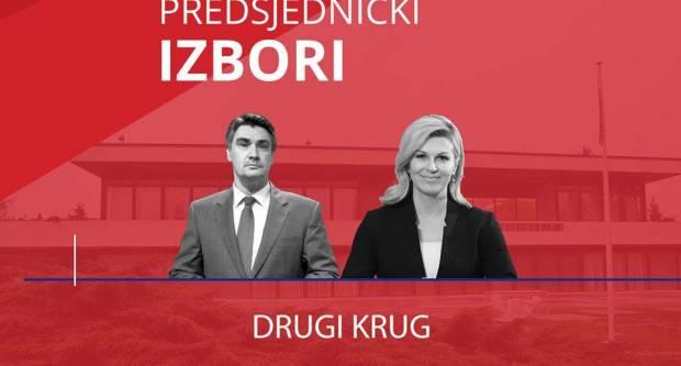 GOTOVO JE! Milanović i Kitarović idu u borbu za predsjednika/cu RH