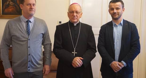 Biskup Škvorčević primio slatinskog gradonačelnika
