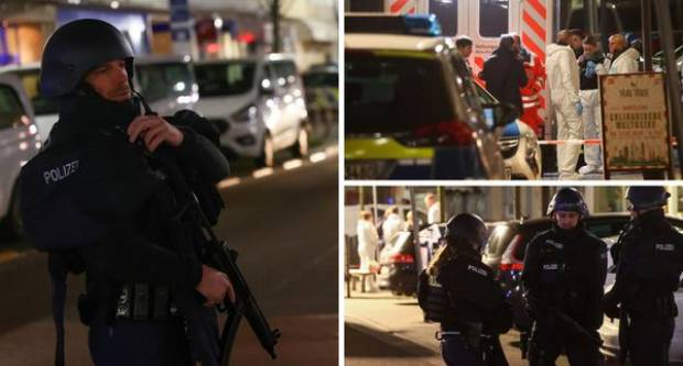 MASAKR U NJEMAČKOJ: U dva su kafića pobili osmero ljudi