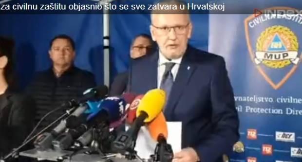 Hrvatska na 87 zaraženih, od ponoći se skoro sve zatvara na 30 dana