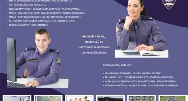 Obavijest svim kandidatima za zanimanje policajac/policajka