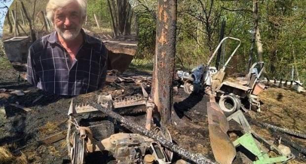 Pokažimo veliko srce i pomognimo Požežaninu Nevenu koji je u jučerašnjem požaru izgubio skoro sve