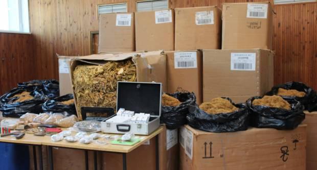 Policijski službenici PU požeško-slavonske zaplijenili čak 2,7 tona duhana, 900 gr marihuane, alkohol...