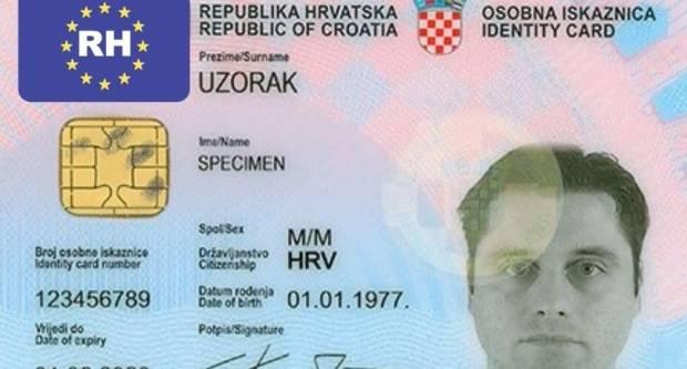 U kolovozu 2021. godine osobne iskaznice dobivaju novi izgled: Imat će čip s biometrijskim identifikatorima