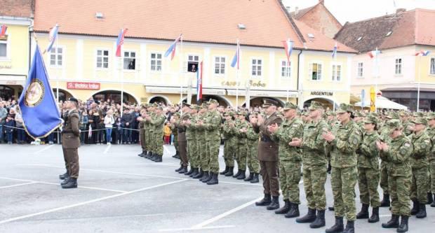 Video čestitka pripadnika Hrvatske vojske povodom Dana državnosti RH