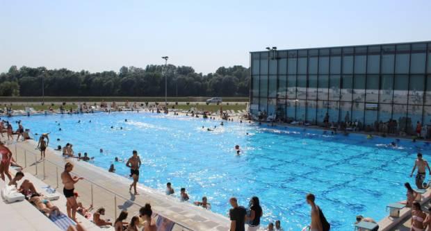 Otvorenje vanjskog bazena