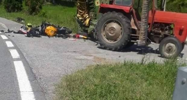 Za jučerašnju prometnu u Donjem Čagliću kriv 55-godišnji vozač traktora koji je uhićen